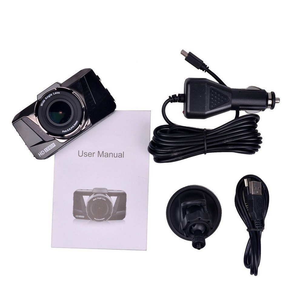 ФОТО  3.0 Inch GT2000 Car DVR Camera Full HD 1080P Car DVR Vehicle Camera H.264 Video 170 Degree Dash Cam