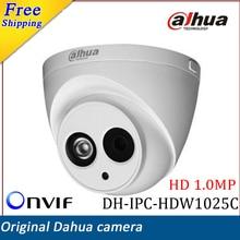 New Arrival Dahua IP Camera DH-IPC-HDW1025C HD 1MP IR Security CCTV Camera Waterproof IP67 Support Onvif