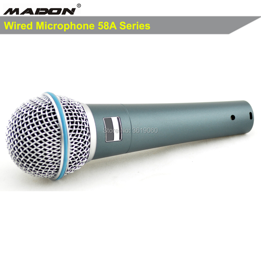 Free Shipping, Beta58a Wired Dynamic Cardioid Professional Microphone , BETA Wired Cardioid Microphone