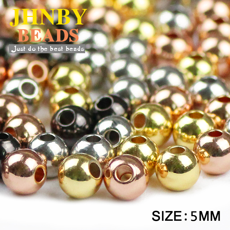 Pack of 30 Crimp Beads Round Rose Gold 4 x 5 mm SiAura Material /®