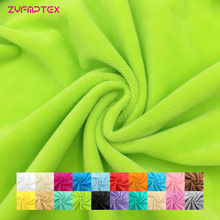 ZYFMPTEX New Arrival Patchwork Fabrics For Sewing By The Meter Width 150cm High Quality Plush Fabric Toys Blanket Material