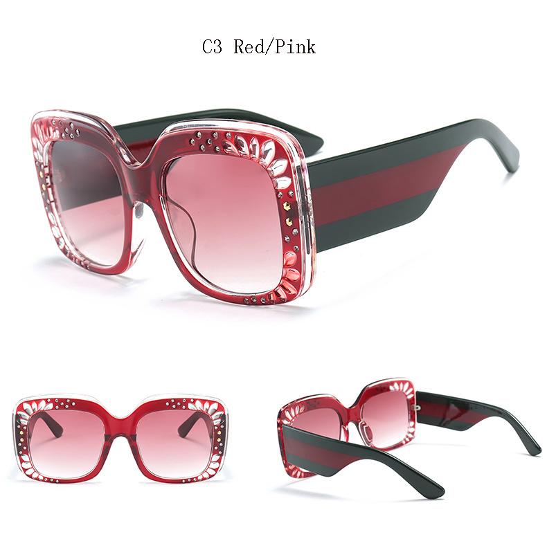 HTB1dRo.bgvD8KJjy0Flq6ygBFXa4 - Oversize Square Frame Rhinestone Sunglasses 2018 - Trending Fashion