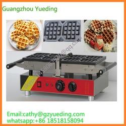 Commercial waffle machine/Waffle Iron/liege swing belgian waffle maker
