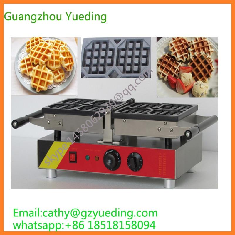 Macchina per cialde commerciale/Cialde/liegi altalena belgian waffle makerMacchina per cialde commerciale/Cialde/liegi altalena belgian waffle maker
