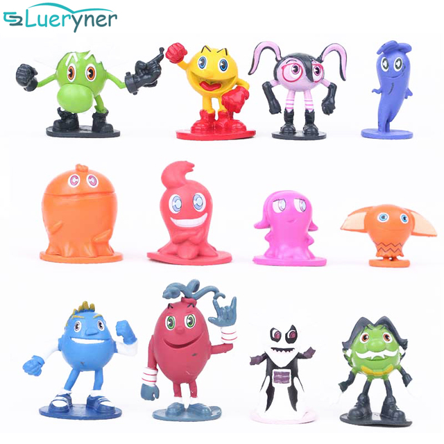 Hot sale Pac Man Cute cartoon Ghostly Adventures Action Figures Parkman Pixels Movie Figures Toys best