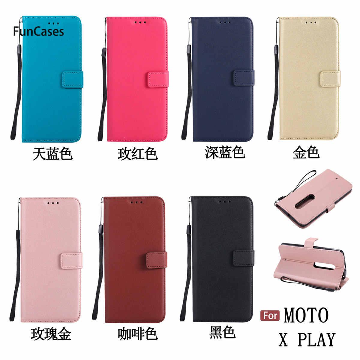 Étui de téléphone portefeuille chaud sFor cellulaire Moto X Play doux étui de téléphone en TPU Estojo coque arrière exotique pour Motorola X Play Design pas cher