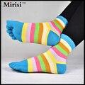 Melhor valor recomendado sexy malha de algodão cinco meias toe para mulheres e meninas