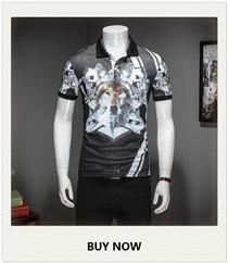Wolf-3D-Print-M-3XL-2017-Summer-Short-Sleeve-Polo-Shirt-Men-Business-Casual-Mens-Polo