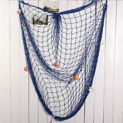 Fishing Net Sea Shell Starfish Hanging Home Wall Decoration Nautical Ocean Theme Home Decor