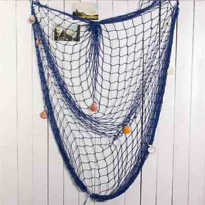 Fishing Net Sea Shell Starfish Hanging Home Wall Decoration Nautical Ocean Theme Home Decor