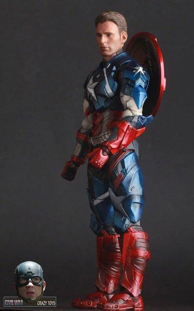 25 cm Avengers Nieskończoność War Część I/II Kapitan