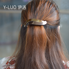 Women headwear twist simple hair clip large barrette cute accessories foe women