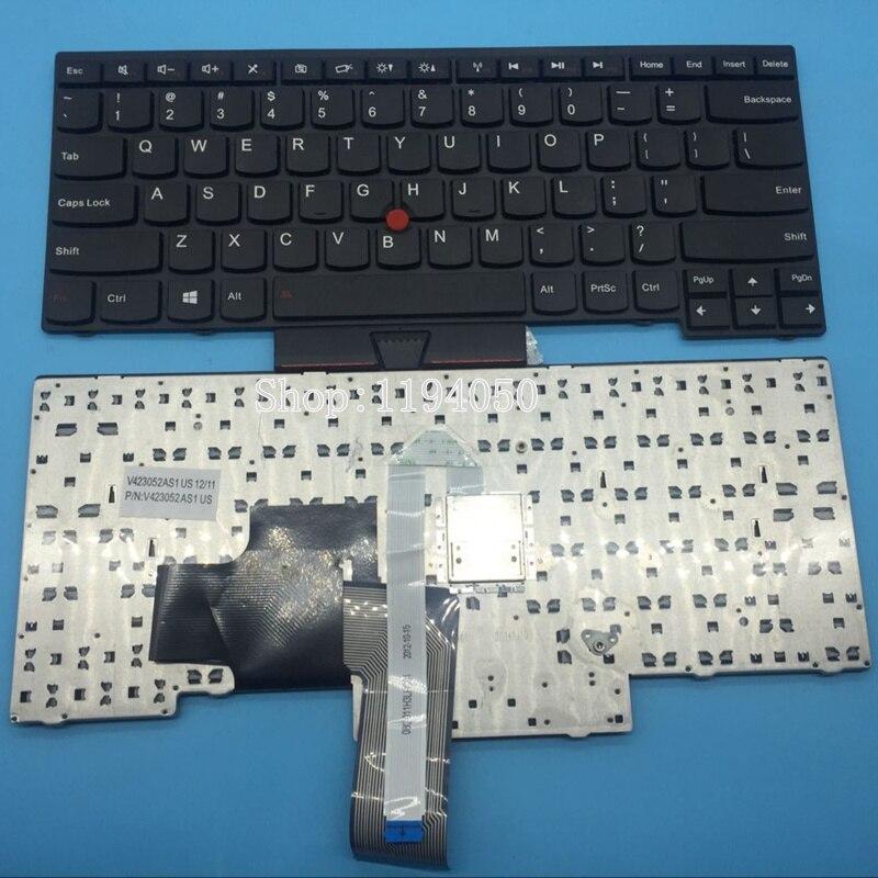 Nouveau clavier d'ordinateur portable us pour clavier IBM Lenovo ThinkPad E430