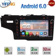 4G Android 6.0 8″ 32GB ROM Octa Core 4GB RAM FM WiFi USB BT Car DVD Video Player Radio Stereo For Honda FIT 2014 GPS Navigation
