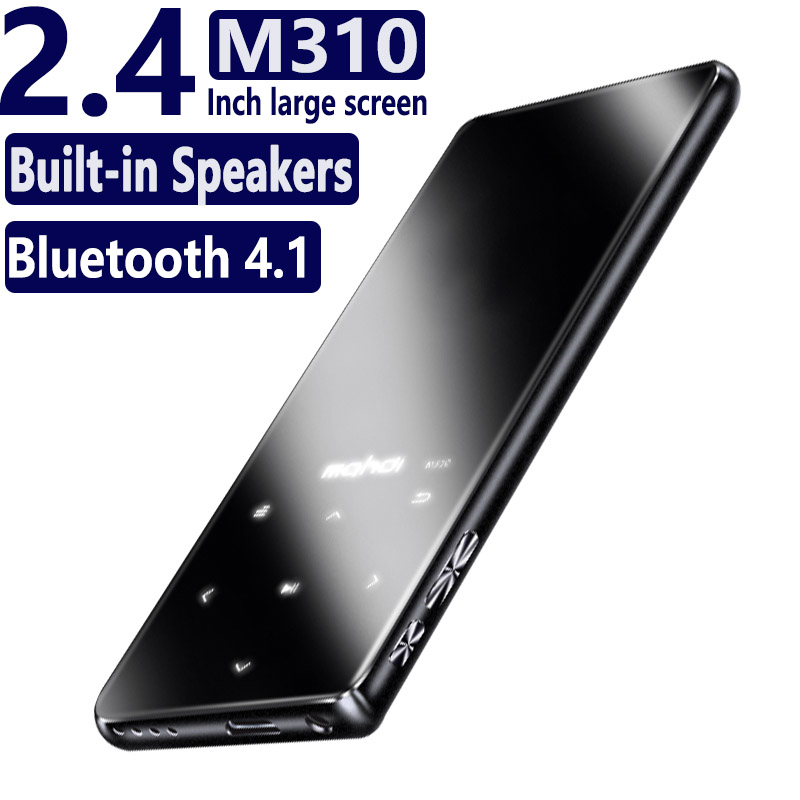 M310 16GB Original HIFI Mp3 Music Player Ultrathin W Speakers Lossless Portable Audio Players FM Radio Ebook Voice Recorder-in MP3 Player from Consumer Electronics    1