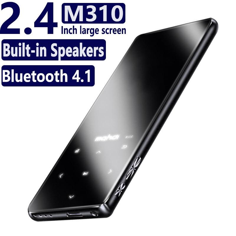 M310 16GB Original HIFI Mp3 Music Player Ultrathin W Speakers Lossless Portable Audio Players FM Radio Ebook Voice Recorder