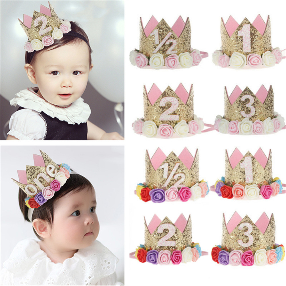 Mother & Kids Accessories Obedient Cute Flower Headband Elastic Hair Band For Baby Girls Kid Hair Headwear Red Pink Accessories