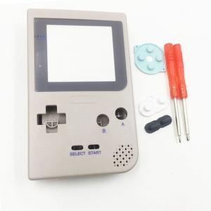 Image 5 - Için DMG 01 Sınırlı Sayıda Gri Tam Konut Shell Düğmeler Mod Onarım Nintendo Game Boy Cep GBP