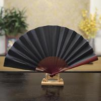 Plain cloth wedding party room decorative gift dance prop folding craft colorful big fan