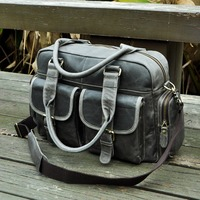 Hot Sale Design Real Leather Casual Fashion Men Briefcase Business Laptop Case Attache Messenger Bag Tote