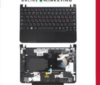 NC210 NC215 RU Laptop keyboard For samsung NC110 RUSSIA Black with Palmrest notebook Keyboard with Topcase cover C
