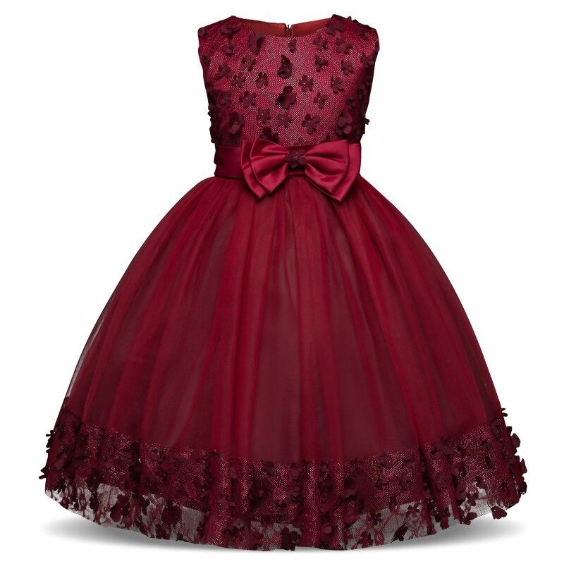Vintage kinder mädchen kleid für teenager kinder prom kleider für ...