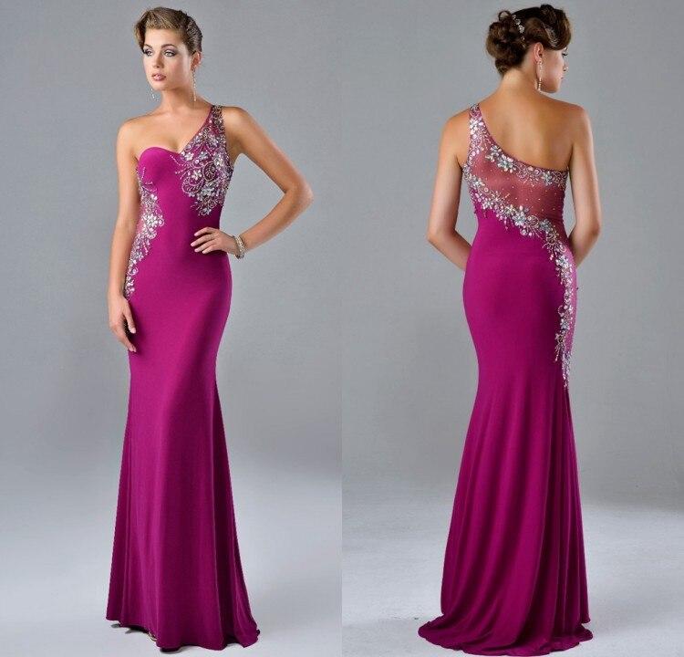 4ece4118d2f 2015 Sale Abendkleider New Arrival Vestidos De Gala Noche Evening Dress One  Shoulder Sexy Elegant Backelss Mermaid Dresses Gowns-in Evening Dresses  from ...