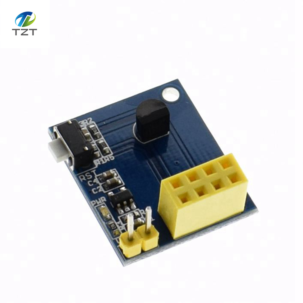 Esp8266 Esp 01 01s Ds18b20 Temperature Sensor Module Digital Thermometer Circuit Electronics Projects Circuits Wifi Nodemcu For Arduino Diy Kit In Integrated From Electronic Components