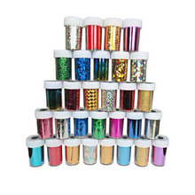 6pcs/lot 66 Designs Nail Art Transfer Foils Sticker Free Adhesive Polish Wrap Decorations Accessories