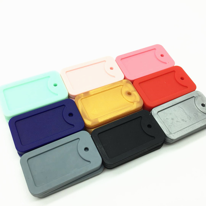 Image 3 - 10 PCS Kids Dog Tags Fidget Necklace,Silicone Boys & Girls Children's Jewelry,Silicone Bite Beads Army Silicone Chew Dog Tags-in Pendants from Jewelry & Accessories