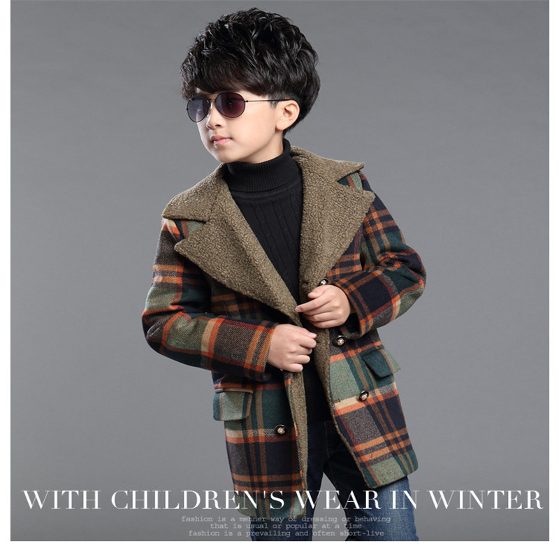 Boys Red Plaid Jacket Promotion-Shop for Promotional Boys Red ...