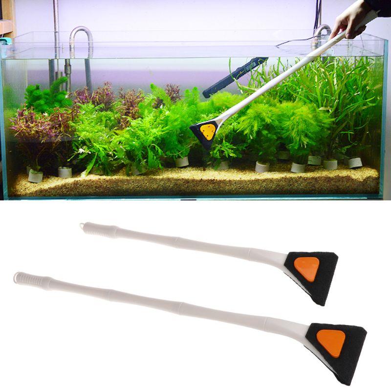 GüNstig Einkaufen Drop Schiff Aquarium Reinigung Pinsel Fisch Tank Extension Tube Einstellbare Algen Glas Reiniger