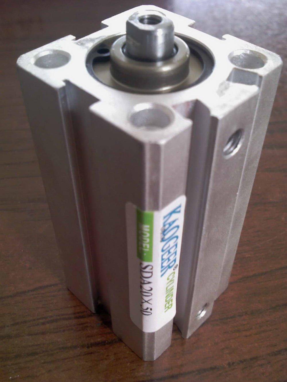 ФОТО SDA Series compact Pneumatic Cylinder / air cylinder SDA25X5X10X15X20X25X30X35X40