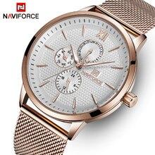 NAVIFORCE Top Brand Luxury Watches Men Stainless Steel Ultra
