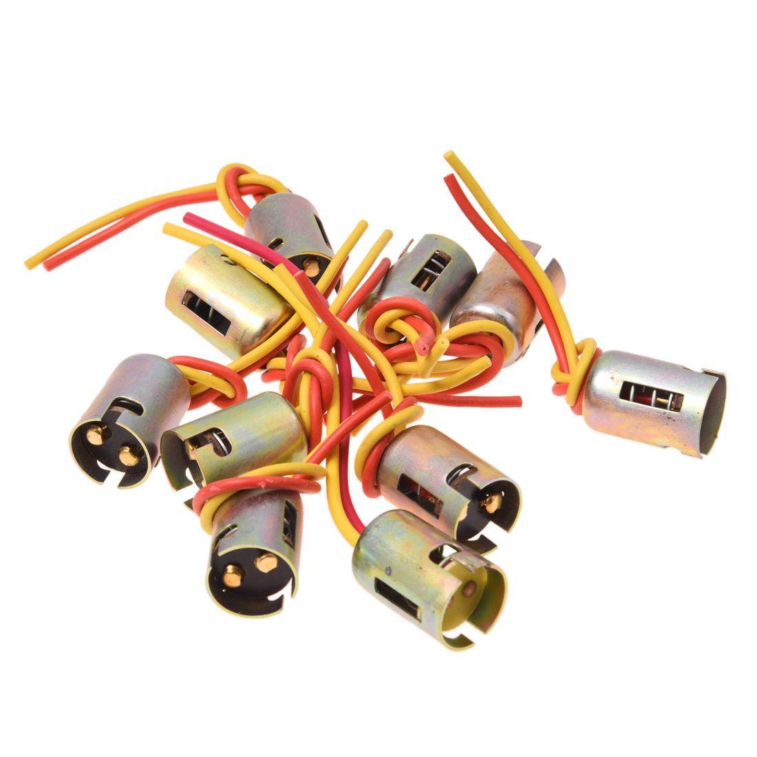 1158 2057 2357 Plug Wiring Harness Sockets For Turn Signal Light Bulb