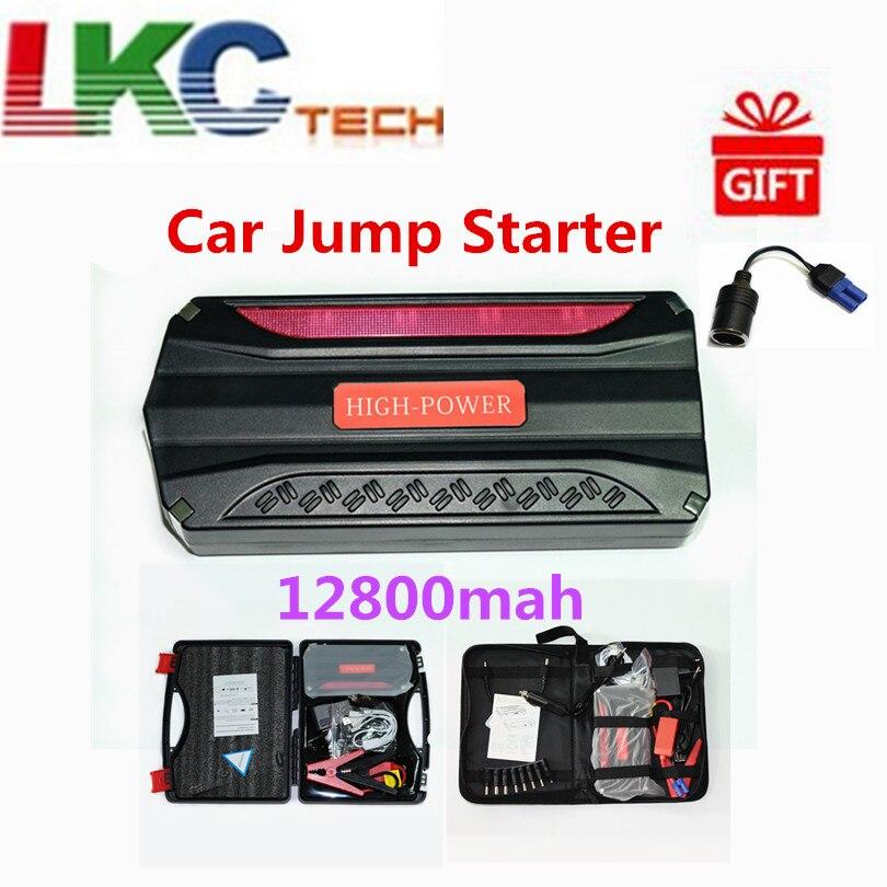 Batterie externe multifonctionnelle de chargeur de voiture de démarreur de saut de voiture de secours de 2019 avec le démarreur de 4 Batteries pour la voiture d'essence et de Diesel