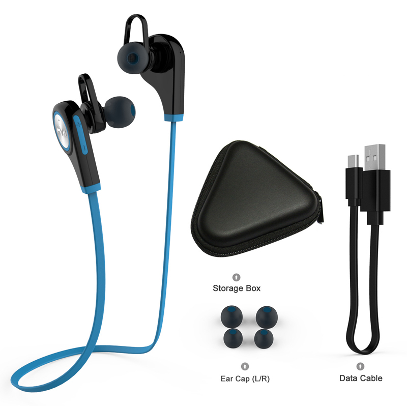 Wireless Bluetooth Earphones Sports Running In ear Headset Auriculares Music Stereo Earbuds with Mic for Iphone Samsung Xiaomi sports wireless bluetooth earphones stereo earbuds headset bass headphones with mic in ear for iphone 6 samsung phone xiaomi htc