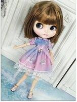 Новые настройки Блит 1/6 BJD кукла с гибкими суставами с золотой волос и белой кожи 30 см куклы игрушечные лошадки для DIY горячая девушка подарок