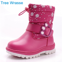 Girls Snow Boots Children S Shoes Tree Wrasse Trade Russia The Low Bodied Cotton Boots Winter