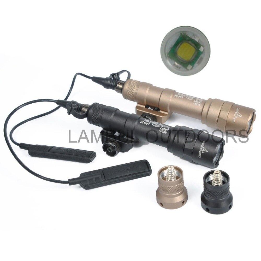 Lampu suluh taktikal SF M600 M600B untuk senjata pemburu obor senjata - Memburu - Foto 5