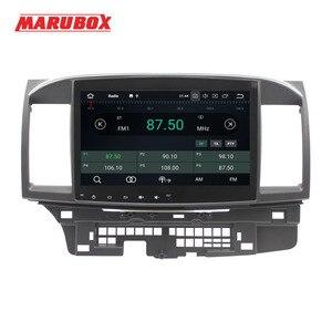 "Image 3 - MARUBOX Head Unit 1Din 4G RAM 10"" Android 9.0 For Mitsubishi Lancer 2006 2015 Stereo Radio GPS Navi Car Multimedia Player 716PX5"