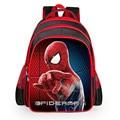 Alta Calidad de Nylon de Dibujos Animados Spiderman Niños de Escuela Para Niñas niños Mochilas Niños Mochila Escolar Bolso Impermeable