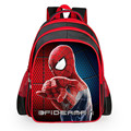 High Quality Nylon Cartoon Spiderman Children School Bags For Girls Boys Backpacks Kids School Backpack Waterproof Bag