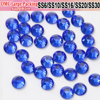 Bulk Packing Rhinestone Stones Crystals Sapphire Transfer Designs Hotfix Rhinestones Rhinestones For Craft