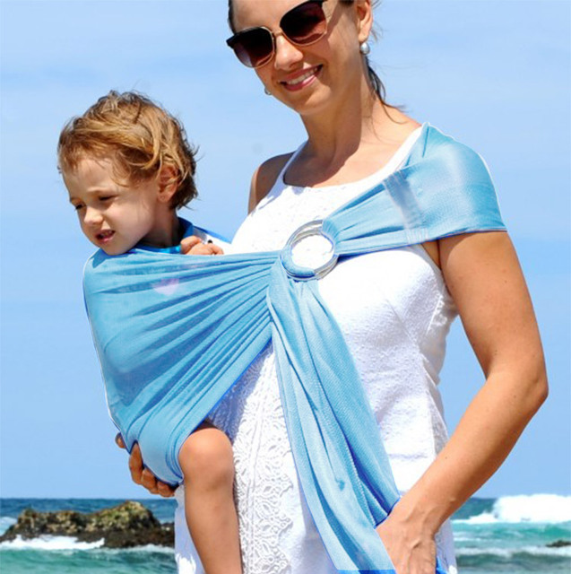 Respirant Bébé Élingues À Séchage Rapide Conception Porte Bébé - Porte bébé souple