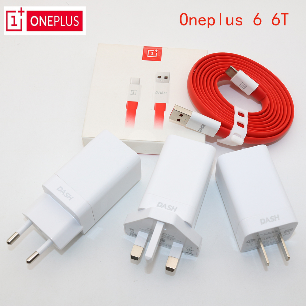 ONEPLUS Dash-Charger Adapter Eu/us/uk-plug Original 5v 4a USB 1 3 Noodle 5T 100CM/150CM