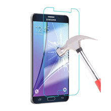 For Samsung Galaxy J1 J2 J3 J5 J7 A3 A5 A7 2016 Grand Prime S7 S6 S5 Tempered glass Clear Front Screen Protector Phone Case 2.5D(China)