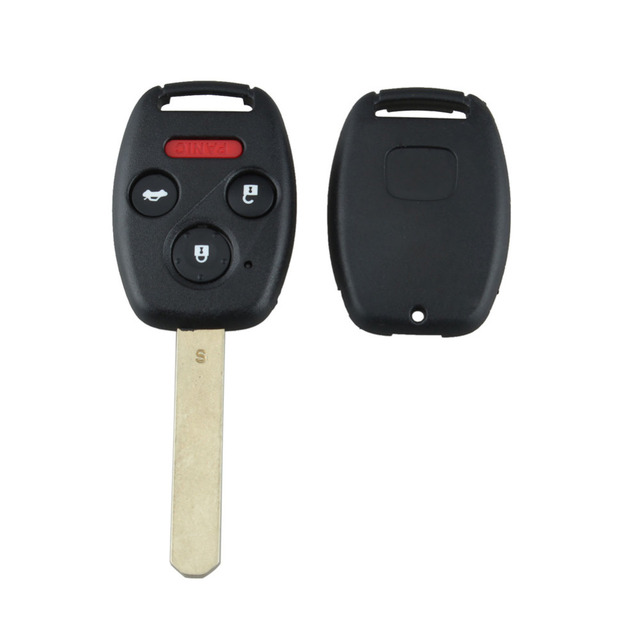 Stenzhorn 4Buttons 313.8Mhz Car Remote Keyless Key Fob For Honda Accord 2003 2004 2005 2006 2007 ID46 chip Complete Remote Key 1