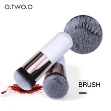 O.TWO.O Chubby Make up Brush Pier Foundation Flat Cream Loose Powder Contour Makeup Brushes Professional Cosmetic Tool