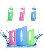 300ml Newborn Baby Milk Bottles Natural Glass Feeding Infant Water Cup Bottle for Kids Bpa Free